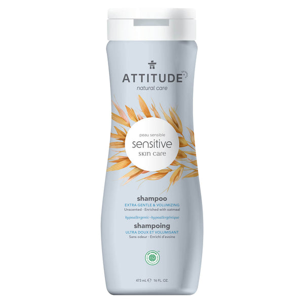 ATTITUDE Sensitive skin Extra Gentle & Volumizing Shampoo Fragrance-free 60101_en?_main?
