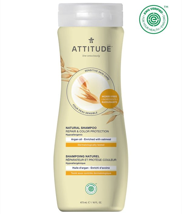 ATTITUDE Sensitive skin Repair & Color Protection Shampoo Argan oil 60102_en?_main?