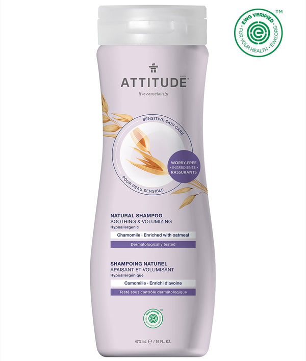 ATTITUDE Sensitive skin Soothing and Volumizing Shampoo Chamomile 60104_en?_main?
