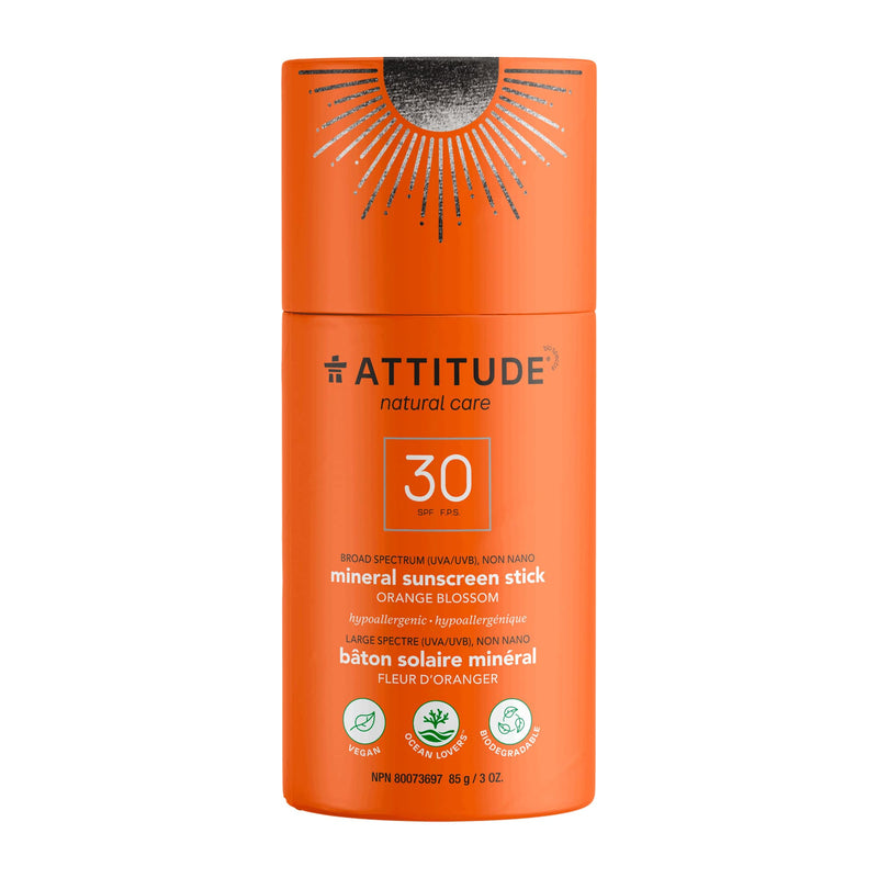 ATTITUDE Sunscreen Stick SPF 30  Orange Blossom 16032_en?_main?