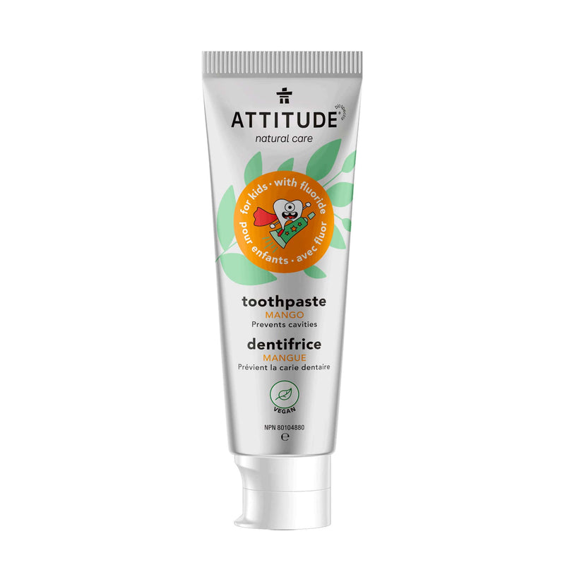 ATTITUDE Natural Toothpaste with fluor for kids Mango_en?_main?