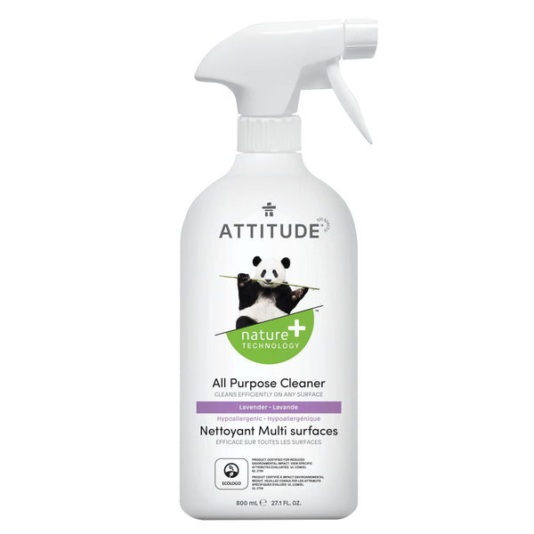 ATTITUDE Natural All purpose cleaner lavender 27,1 Fl. Oz 800 mL 10182 _en?_main?