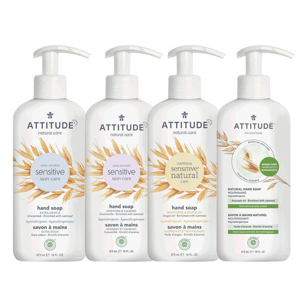 Bundle of 4 Liquid Hand Soap Sensitive Skin _en? _main?