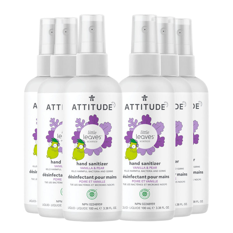 Hand Sanitizer little leaves™ - Vanilla & pear _en? _bundle?