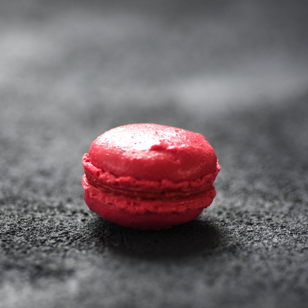 Faux Macaron Red
