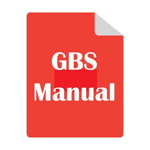 GBS safety guidance and instructions