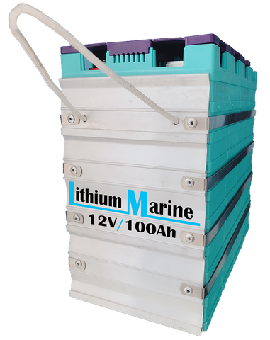 Lithium-ion (LFP) 12V 100AH GBS battery