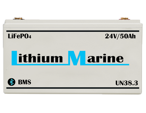 24V Lithium-ion battery with integrated B.M.S
