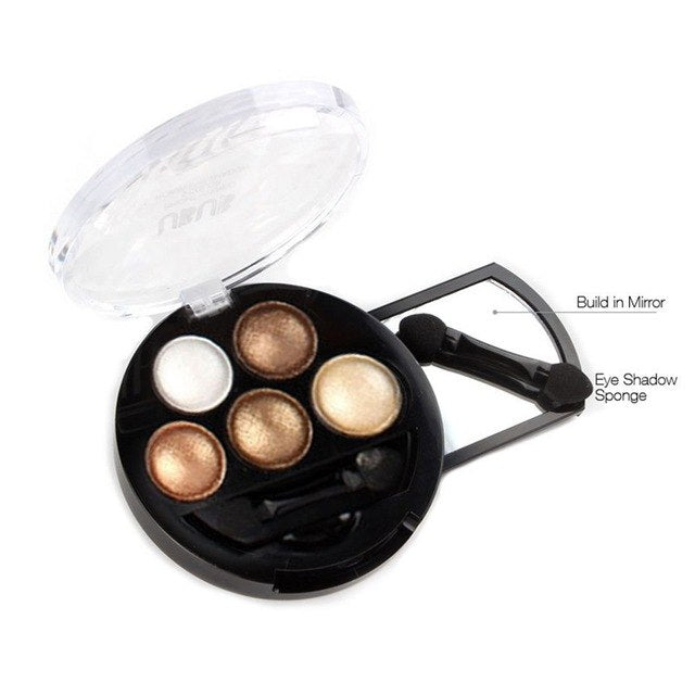 UBUB 5 Colors Personal Use Women Lady Facial Makeup Cosmetic Eye Shadow Natural Waterproof Long Lasting Eye Shadow - MakeupStore