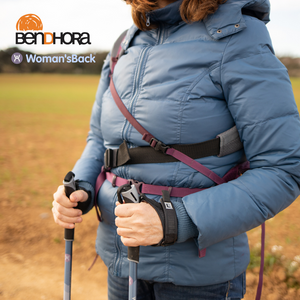 WOMAN'SBACK® AND BENDHORA ALLIANCE‼ Buy a backpack and we will give you a Nordic walking initiation course