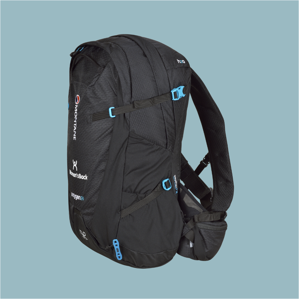 MARY - Montane Women's Oxygen 24 L Black (S-M/M-L)