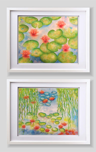 A Water Lily Pair