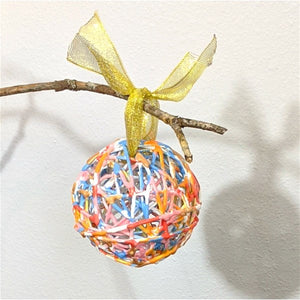 Sunrise Wax Ornament: Pastel Perfection