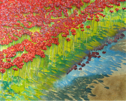 Tower of London: Poppies & Puddles