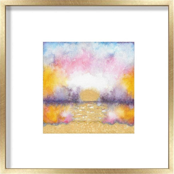 Sunrise Original Painting: Pretty In Pink 2