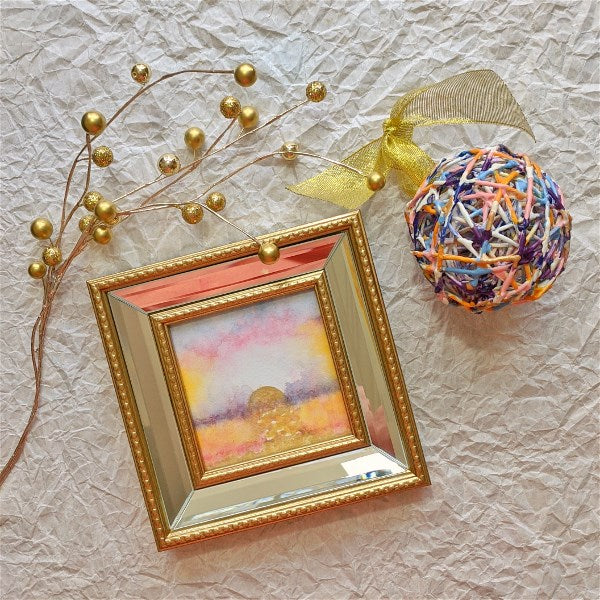 Sunrise Wax Ornament: Pretty In Pink