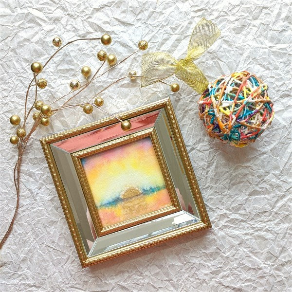 Sunrise Wax Ornament: Turquoise Waters