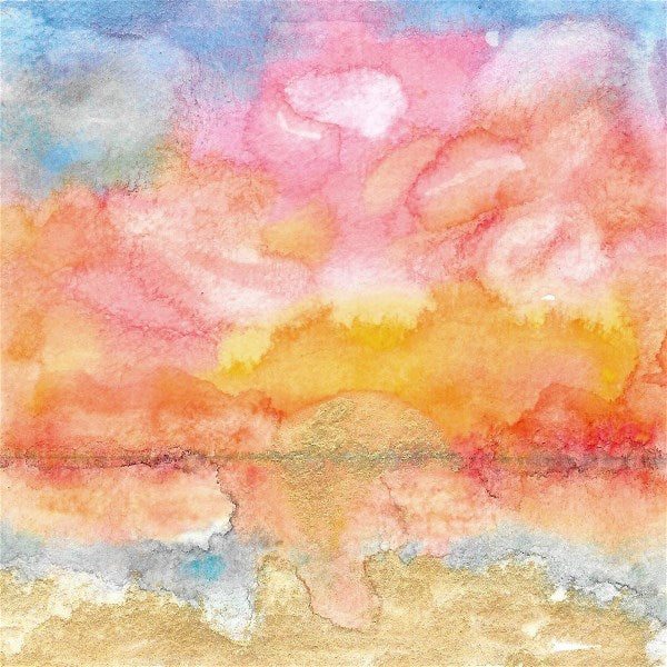Sunrise Watercolor Study: Pastel Perfection 3