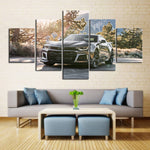 5 Piece Canvas Art ZL1 with Trees