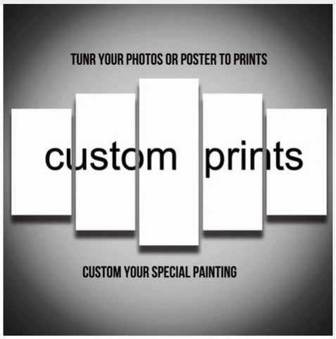 5 Piece Canvas Art Custom