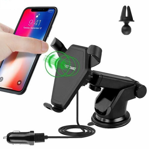 Qi Fast Wireless Charger/Mount