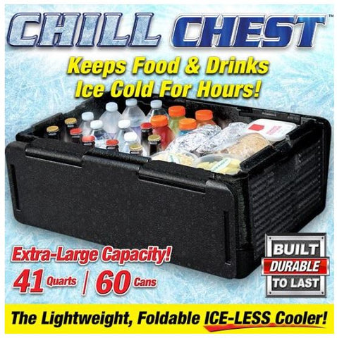 Chill Chest Collapsible Insulated Ice Chest