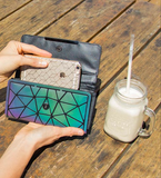 Luminous Clutch Wallets