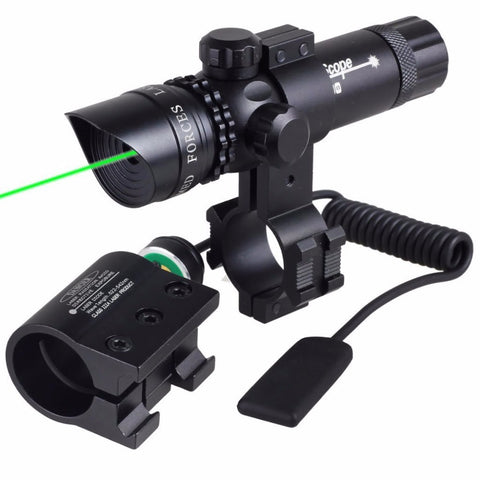 Shockproof Adjustable Green/Red Dot Laser Sight