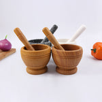 Durable Lightweight Mortar+Pestle Set