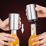 Pop-A-Bottle Push Down Bottle Opener
