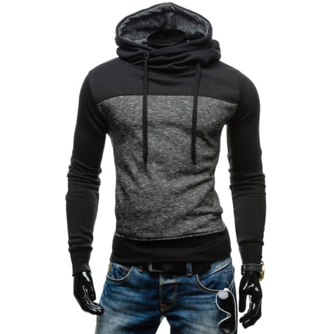 Black Cloak Hooded Hip Hop Sweatshirt