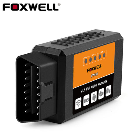 FOXWELL FW601 Universal Auto OBDII WIFI Scan Tool for iPhone