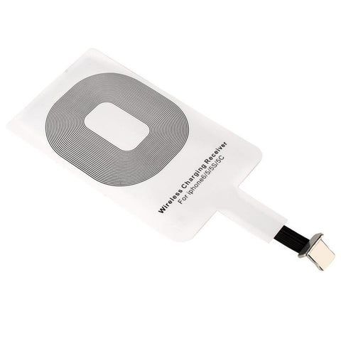 Qi Wireless Charger Receiver for iPhone and Android