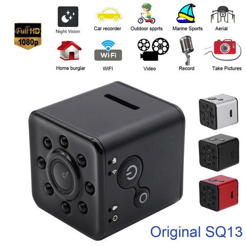 WIFI Camera Mini Camera with Night Vision and Waterproof Housing