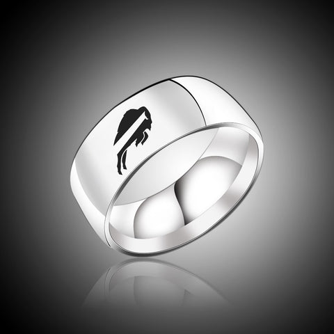 NFL Buffalo Bills Titanium Ring