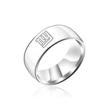 NFL New York Giants Titanium Ring