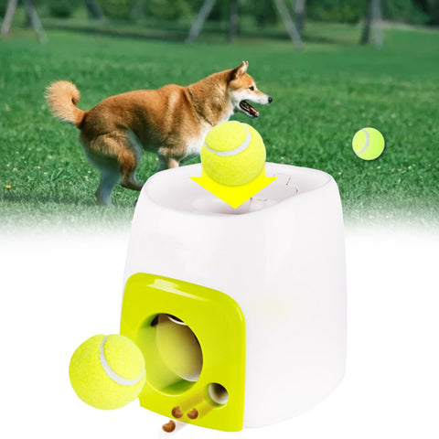 Automatic Tennis Ball Throwing Machine