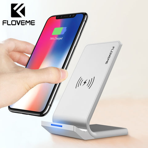 FLOVEME Universal Qi Fast Wireless Charger