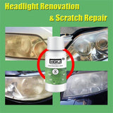 Car Headlight Restoration Kit