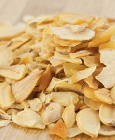 Dehydrated Garlic Flakes Organic