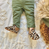 Baby leopard moccs
