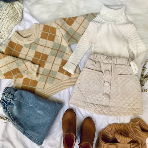 Emmeline Plaid Sweater