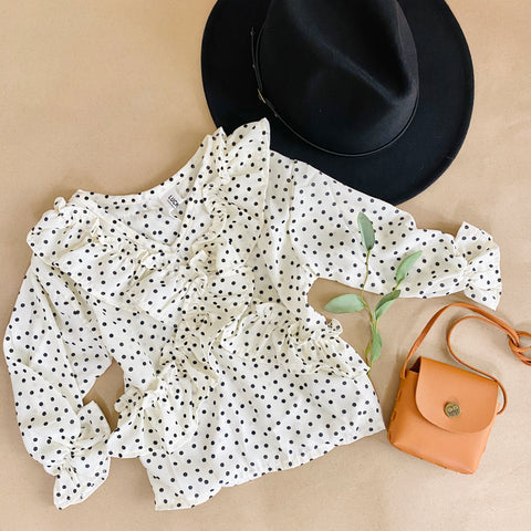 Dottie Ruffle Top