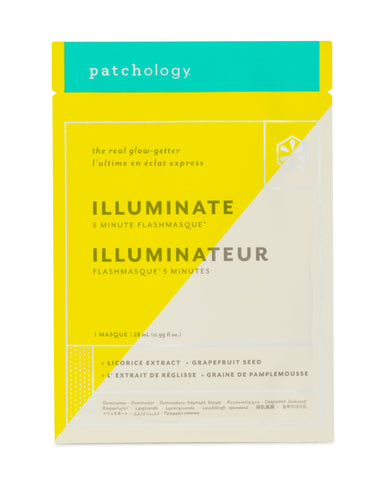 FlashMasque® Illuminate 5 Minute Sheet Mask - Single Sachet