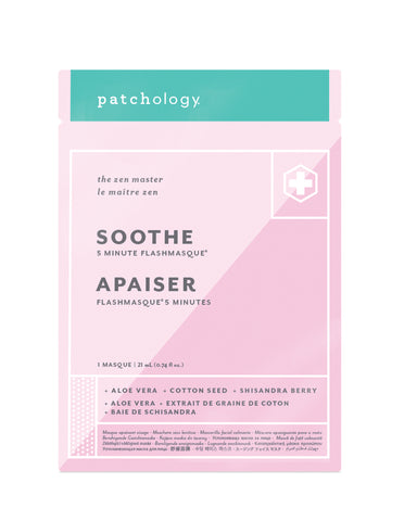 FlashMasque® Soothe 5 Minute Sheet Mask - Single Sachet