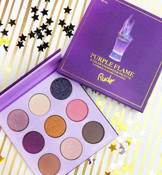 Set de sombras Purple Flame Rude