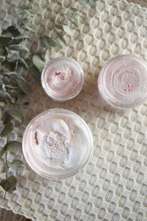 Peppermint Eucalyptus Whipped Sugar Scrub