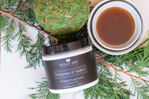 Oakmoss & Amber Whipped Sugar Scrub
