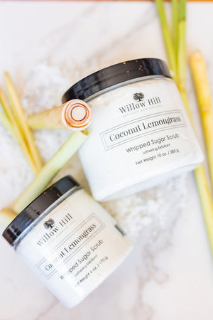 Coconut Lemongrass Whipped Sugar Scrub