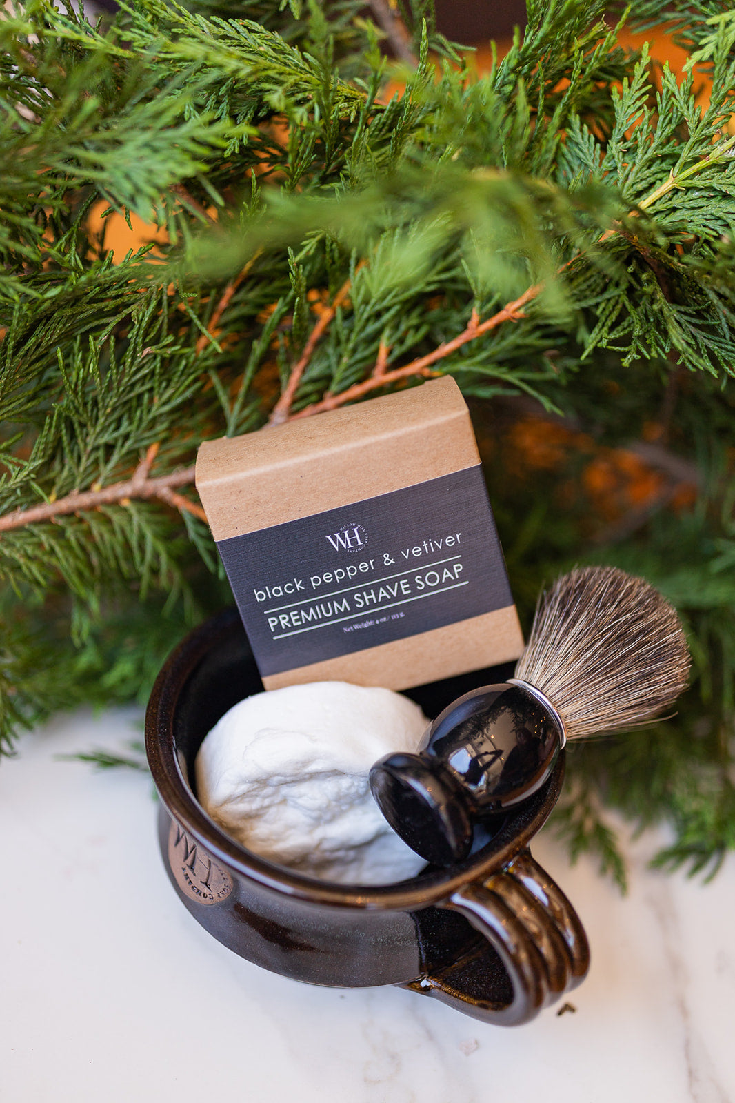 Black Pepper & Vetiver Shave Soap